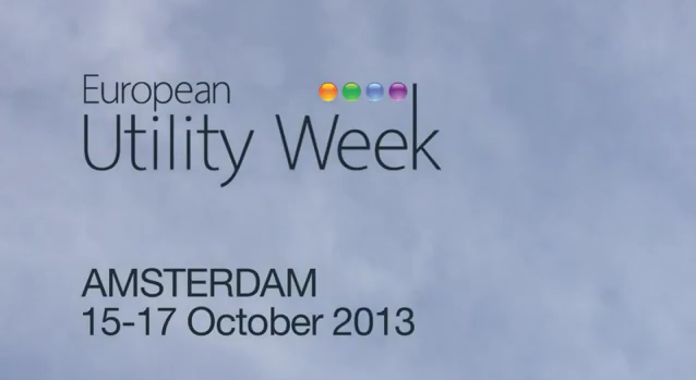 Image European Utility Week, Amsterdam 15-17, October 2013
