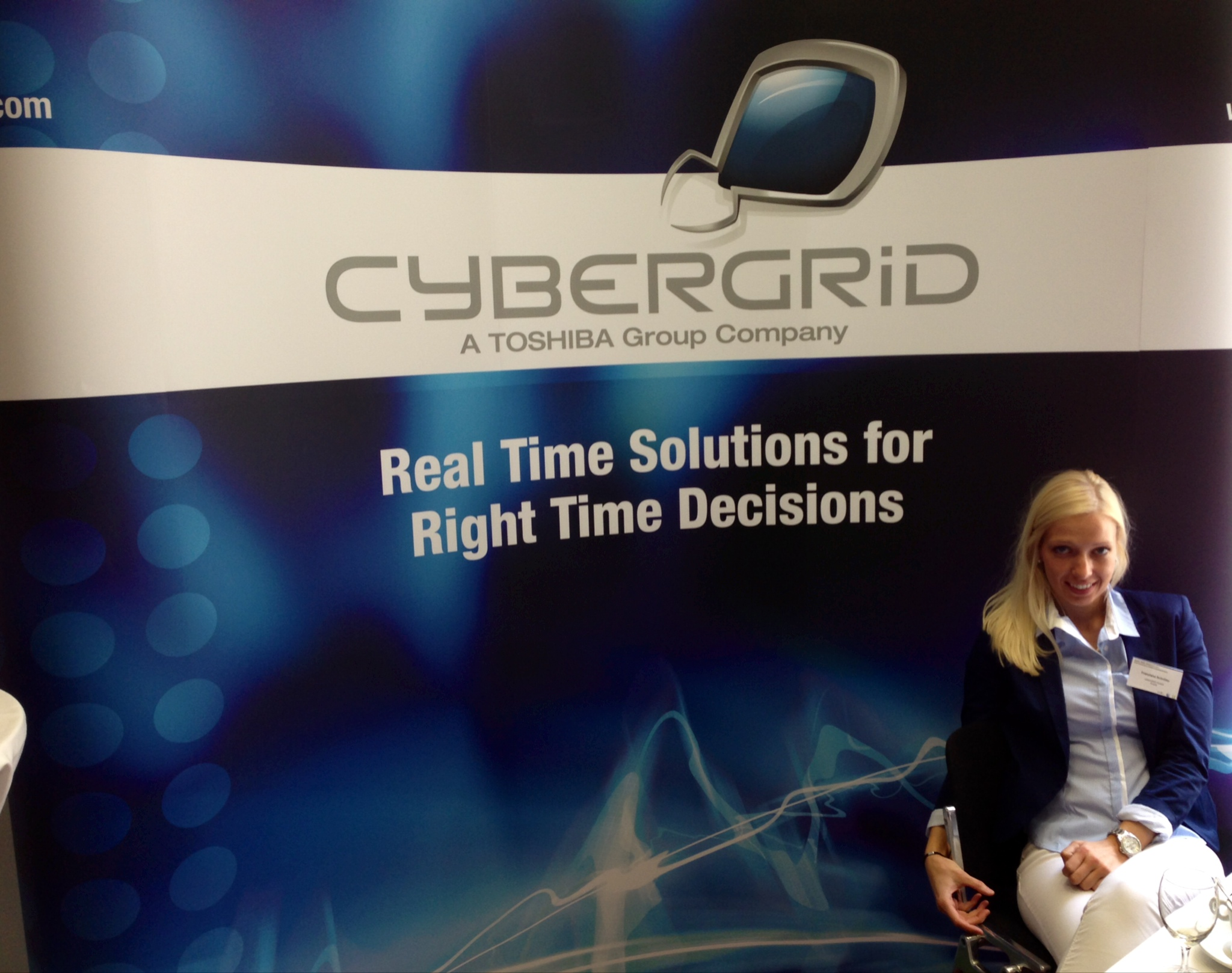 cyberGRID booth