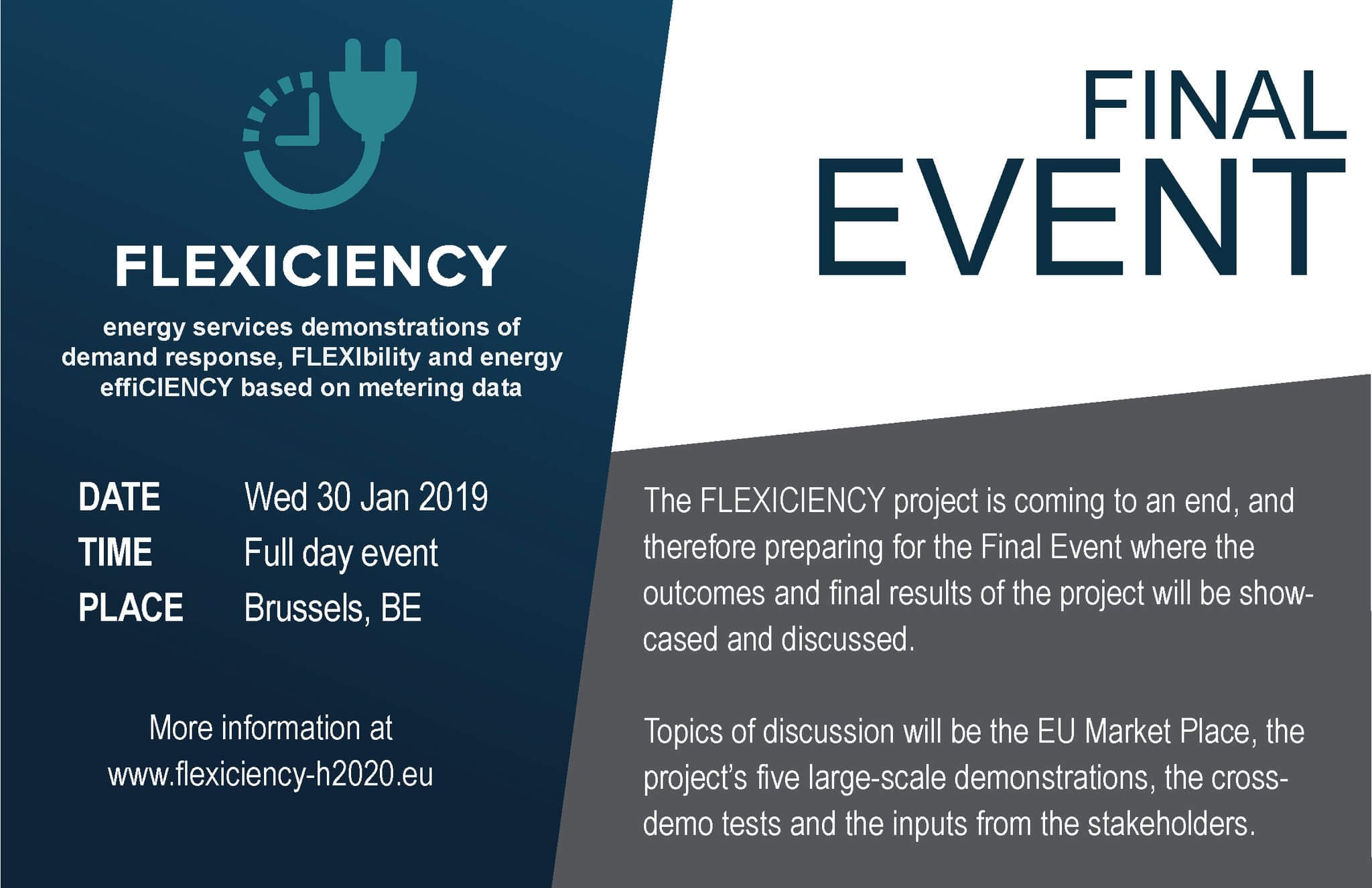 Flexiciency banner final event