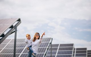 Solar panels in a community - InterConnect